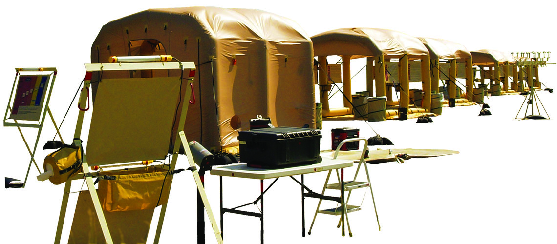LIDS Decon Shelters