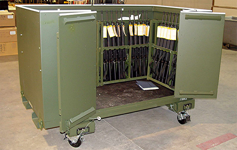 Weapons Storage Containers