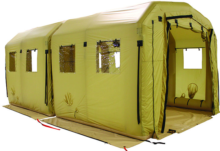 LIDS Decon Staging Shelters