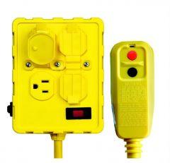 Ground Fault Interrupter (GFCI) 4plug