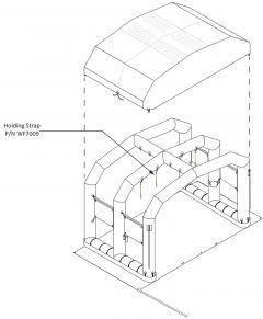 Holding Strap Webbing W/ Loop (LANYARD)