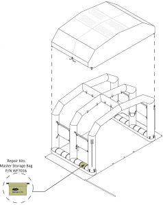 Repair Kit Master Storage Bag For All Kits Incl W/ Tube