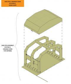 Canopy/Cover - EM Shelter 2 (Station 5/6)