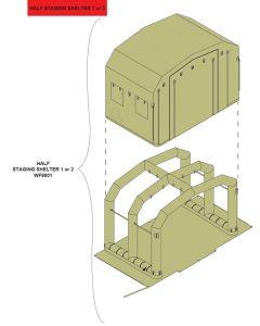 Floor Assembly- EM Shelter 3 (Stn 7/8) & CST Shelter 3 (Stn 6/7)