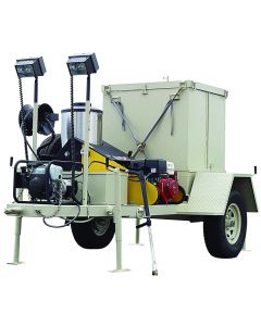 Mobile Decon Unit, With Generator and Lights