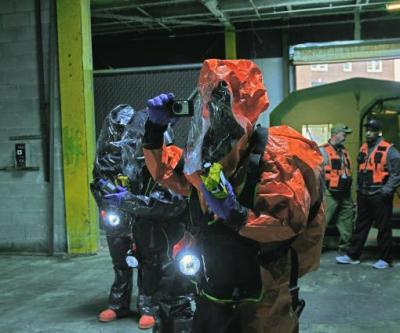 4th Civil Support Team Trains in Brooklyn